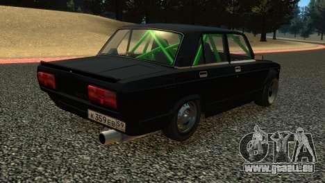 VAZ 2105 für GTA 4 Innenansicht