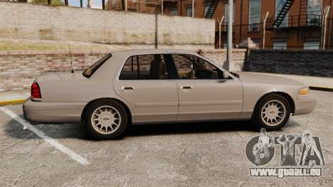 Ford Crown Victoria 1999 für GTA 4 linke Ansicht