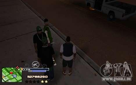 C-HUD Into pour GTA San Andreas deuxième écran