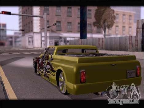 New Slamvan pour GTA San Andreas laissé vue