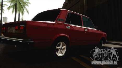 VAZ 2107 Bombilla pour GTA San Andreas vue de droite