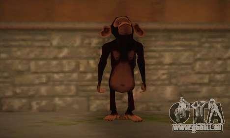 Schimpanse für GTA San Andreas