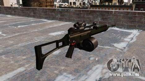 MG36 HK-Sturmgewehr für GTA 4 Sekunden Bildschirm
