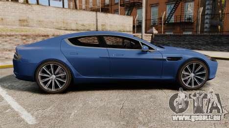 Aston Martin Rapide 2010 für GTA 4 linke Ansicht
