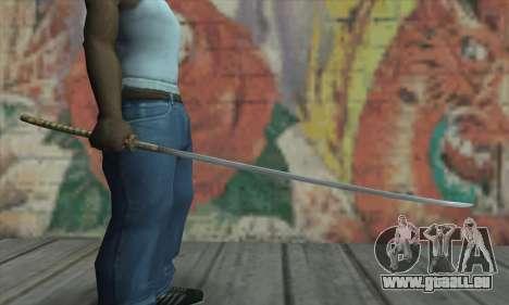 Akvirskaâ Katana de The Elder Scrolls IV: Oblivi pour GTA San Andreas troisième écran