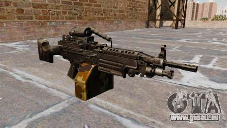 Leichtes Maschinengewehr M249 sah für GTA 4