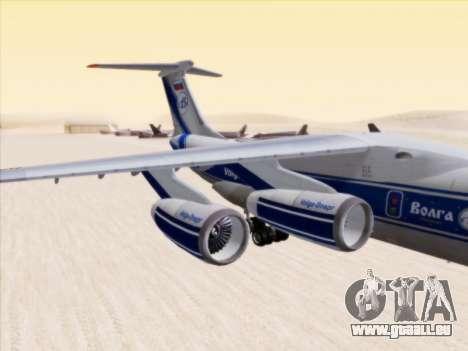 Il-76td-90vd-Volga-Dnepr für GTA San Andreas zurück linke Ansicht
