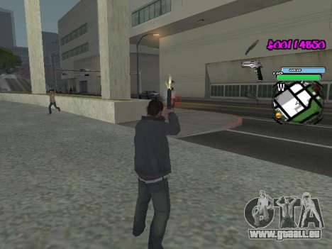 HUD pour GTA San Andreas huitième écran
