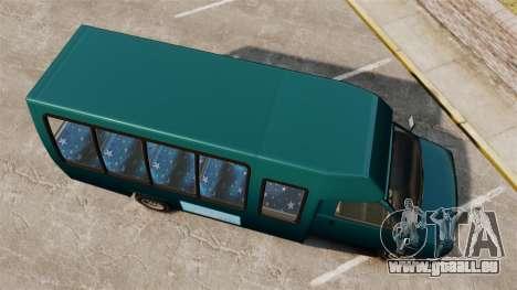 GTA V Brute Tour Bus für GTA 4 rechte Ansicht