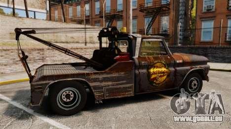 Chevrolet Tow truck rusty Stock für GTA 4 linke Ansicht