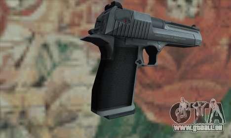Desert Eagle Silver pour GTA San Andreas deuxième écran