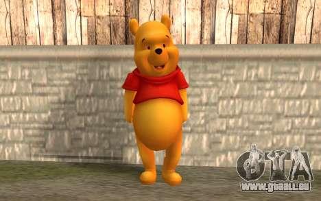 Winnie l'ourson pour GTA San Andreas