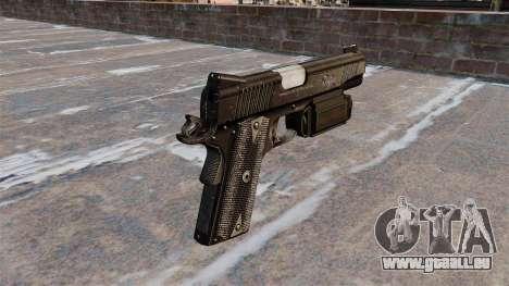 Pistole Colt 45 Kimber für GTA 4 Sekunden Bildschirm