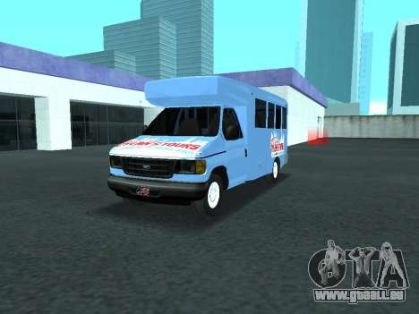 Ford Shuttle Bus pour GTA San Andreas