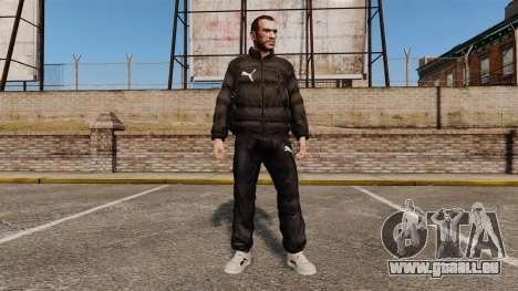 Vêtements Puma pour GTA 4
