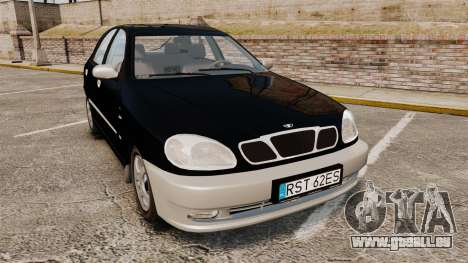 Daewoo Lanos Style 2001 Limited version pour GTA 4