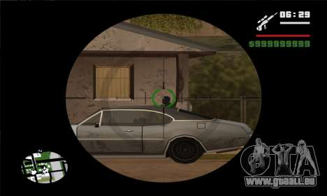 GTA V Sniper Scope für GTA San Andreas