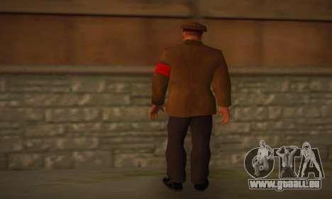 Adolf Hitler pour GTA San Andreas deuxième écran