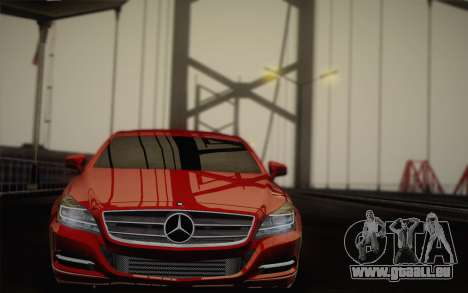Mercedes-Benz CLS 63 AMG 2012 Fixed pour GTA San Andreas salon
