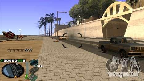 C-HUD pour GTA San Andreas troisième écran