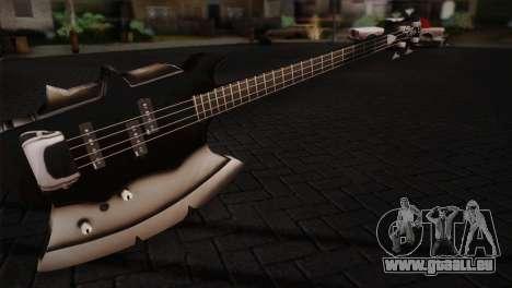 Guitare, KISS pour GTA San Andreas