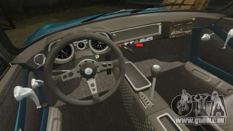 Renault Alpine A110 1600 S pour GTA 4 vue de dessus