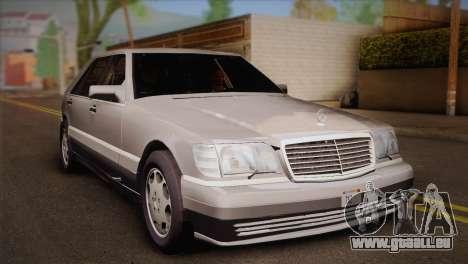 Mercedes-Benz S600 V12 Custom pour GTA San Andreas