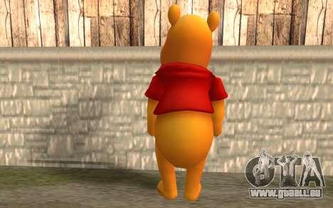 Winnie l'ourson pour GTA San Andreas deuxième écran