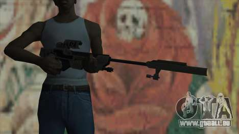 Scharfschützengewehr von Timeshift für GTA San Andreas dritten Screenshot