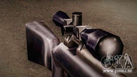 Fusil de sniper de Max Payn pour GTA San Andreas deuxième écran