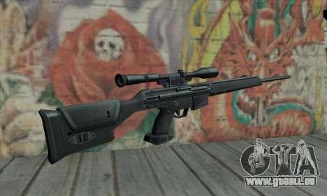 PSG-1 pour GTA San Andreas deuxième écran