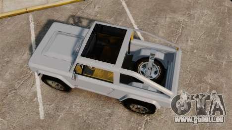 Ford Bronco Concept 2004 für GTA 4 rechte Ansicht