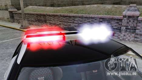 GTA V Police Elegy RH8 pour GTA 4 Vue arrière