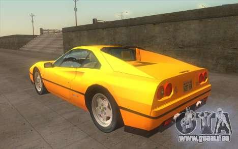 Ferrari 328 GTB für GTA San Andreas linke Ansicht