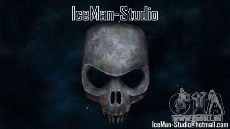 Skull Mask pour GTA San Andreas deuxième écran
