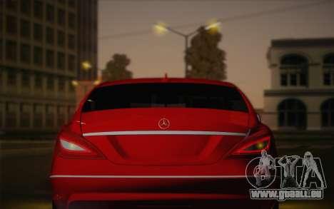 Mercedes-Benz CLS 63 AMG 2012 Fixed für GTA San Andreas Unteransicht