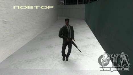 Fusil à âme lisse Saiga 12 k GTA Vice City pour la troisième écran