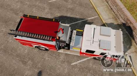 Firetruck Alderney [ELS] pour GTA 4 est un droit