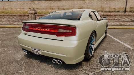 GTA V Bravado Buffalo STD8 v2.0 pour GTA 4 Vue arrière de la gauche