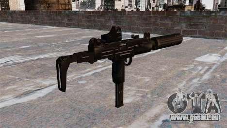 Maschinenpistole Uzi Tactical für GTA 4 Sekunden Bildschirm