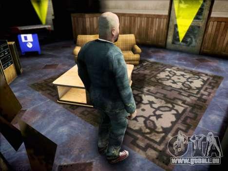 Prêtre de Half Life 2 pour GTA San Andreas troisième écran