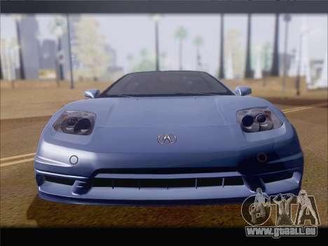 Acura NSX für GTA San Andreas Seitenansicht