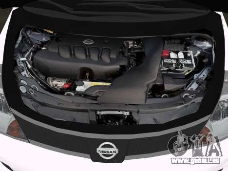 Nissan Tiida pour une vue GTA Vice City de l'intérieur