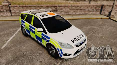 Ford Focus Estate 2009 Police England [ELS] für GTA 4 Innenansicht