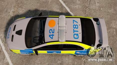 Mitsubishi Lancer Evolution X Police [ELS] für GTA 4 rechte Ansicht