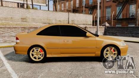 Honda Civic Si 1999 pour GTA 4 est une gauche