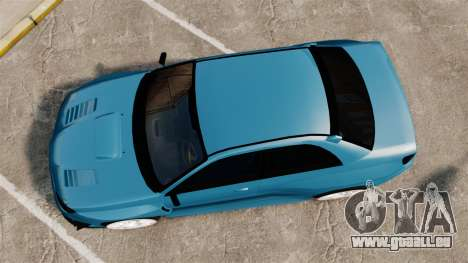 Subaru Impreza HD Arif Turkyilmaz pour GTA 4 est un droit
