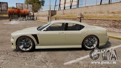 GTA V Bravado Buffalo STD8 v2.0 für GTA 4 linke Ansicht