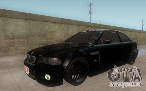 BMW M3 e46 Duocolor Edit für GTA San Andreas