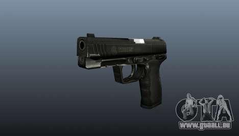 Halbautomatische Pistole Taurus 24-7 für GTA 4